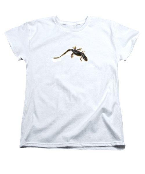 Mutated Eastern Newt Women's T-Shirt (Standard Cut) by Lawrence Lawry