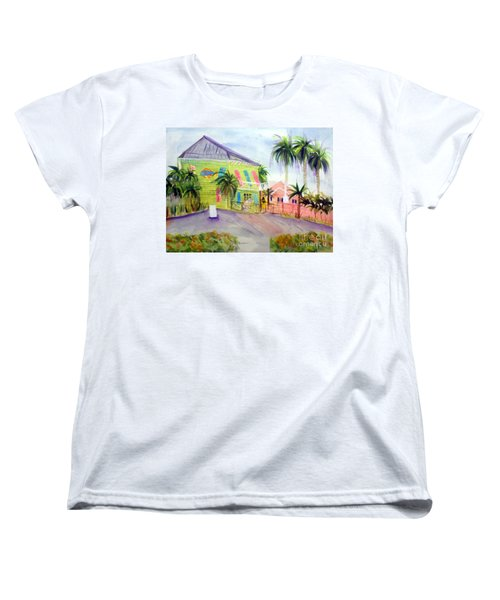 Old Key Lime House Women's T-Shirt (Standard Cut) by Donna Walsh