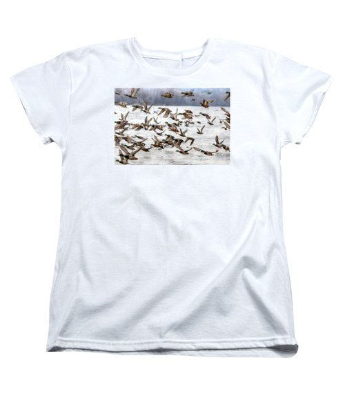 Women's T-Shirt (Standard Cut) featuring the photograph One Direction by Robert Pearson