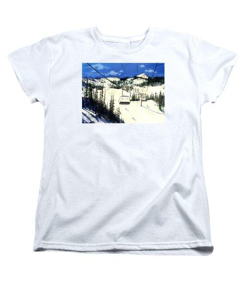 Paradise Bowl Women's T-Shirt (Standard Cut) by Barbara Jewell