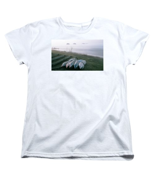 Women's T-Shirt (Standard Cut) featuring the photograph Patiently Waiting by David Porteus