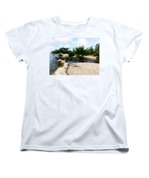 Women's T-Shirt (Standard Cut) featuring the photograph Reclamation 6 by Amar Sheow