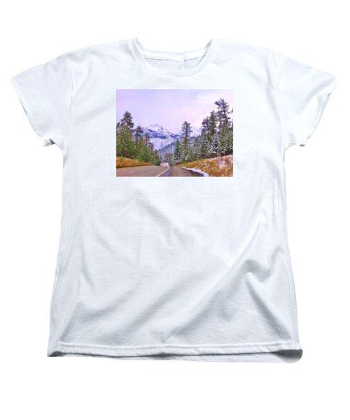 Sierra Storm Women's T-Shirt (Standard Cut) by Marilyn Diaz