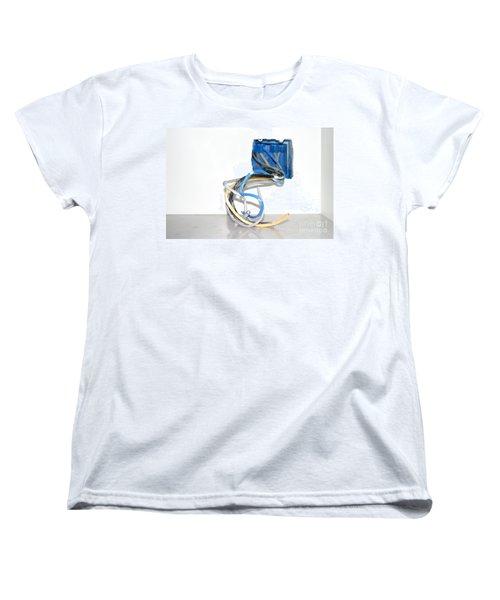 Women's T-Shirt (Standard Cut) featuring the photograph Wire Box by Henrik Lehnerer