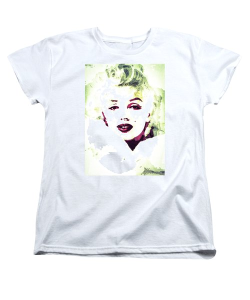 Marilyn Monroe Women's T-Shirt (Standard Cut) by Svelby Art