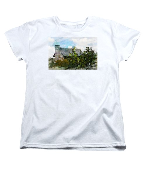 Women's T-Shirt (Standard Cut) featuring the photograph 1810 Living by Robert Pearson
