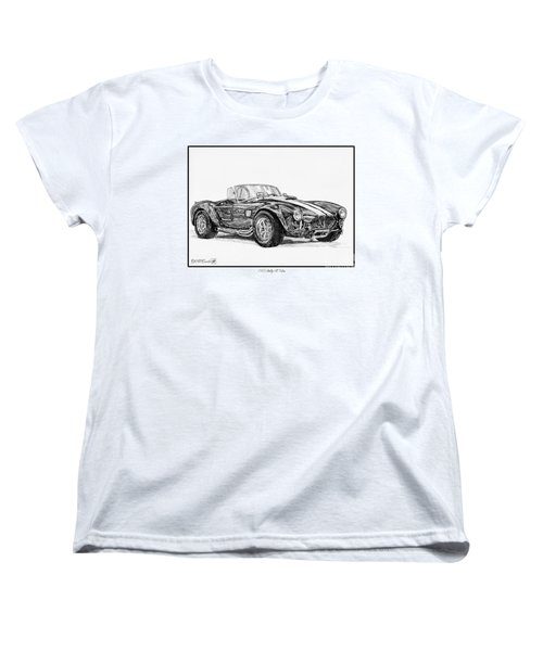 1965 Shelby Ac Cobra Women's T-Shirt (Standard Cut) by J McCombie