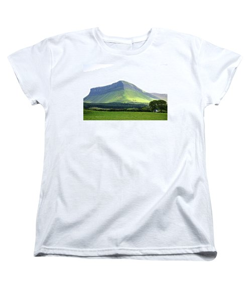 Ben Bulben Women's T-Shirt (Standard Cut) by Charlie Brock
