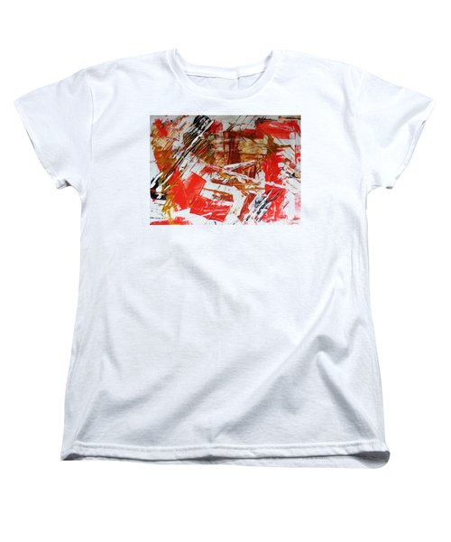 Comission 23 Uplifting Behaviour Women's T-Shirt (Standard Cut) by Sir Josef - Social Critic -  Maha Art