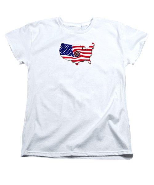 Down The Drain Women's T-Shirt (Standard Cut) by Scott Ross
