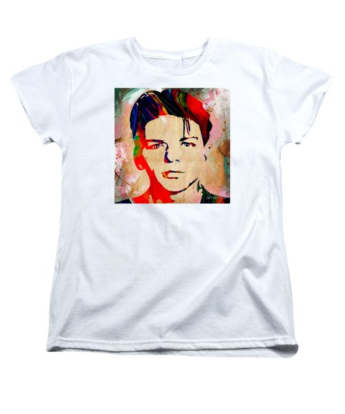 Frank Sinatra Collection Women's T-Shirt (Standard Cut) by Marvin Blaine