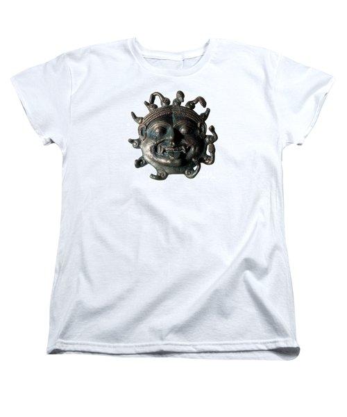 Gorgon Legendary Creature Women's T-Shirt (Standard Cut) by Photo Researchers