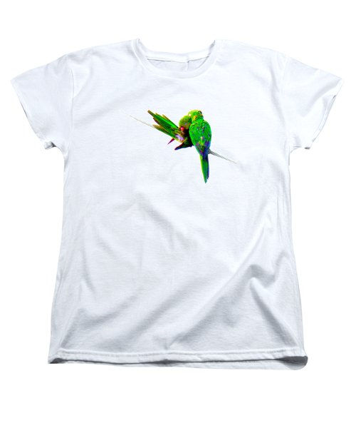 Women's T-Shirt (Standard Cut) featuring the photograph Love Birds by J Anthony