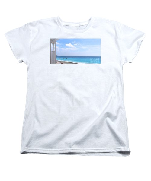 Nice  Women's T-Shirt (Standard Cut) by Suzanne Oesterling