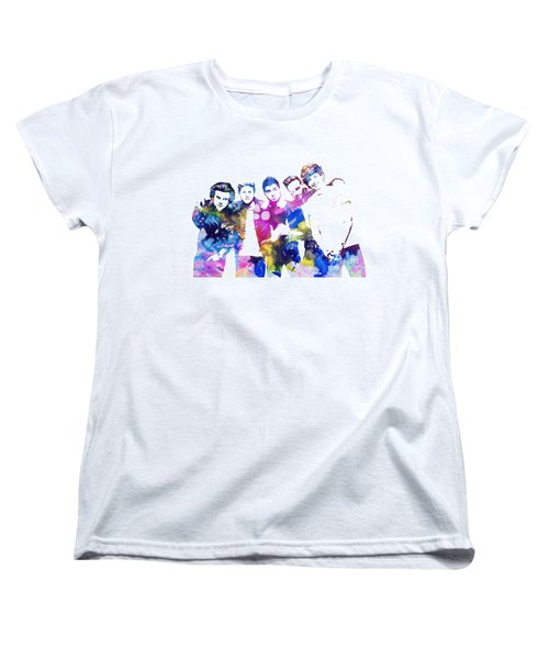 One Direction Women's T-Shirt (Standard Cut) by Doc Braham
