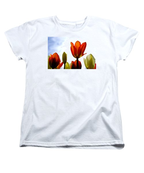 Women's T-Shirt (Standard Cut) featuring the photograph Reaching For The Sun by Marilyn Wilson