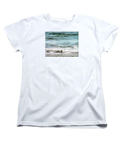 Sea Women's T-Shirt (Standard Cut) by Oleg Zavarzin