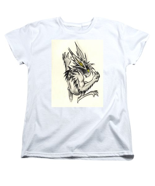Women's T-Shirt (Standard Cut) featuring the drawing The Gargunny by Shawn Dall