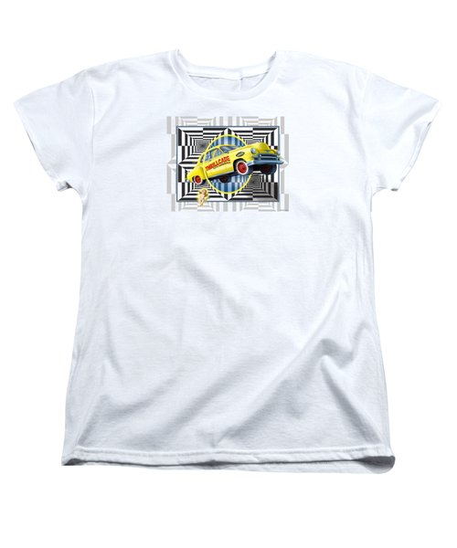 Thrillcade Women's T-Shirt (Standard Cut) by Scott Ross