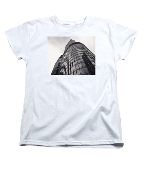 Trump Tower Chicago Women's T-Shirt (Standard Cut) by Adam Romanowicz