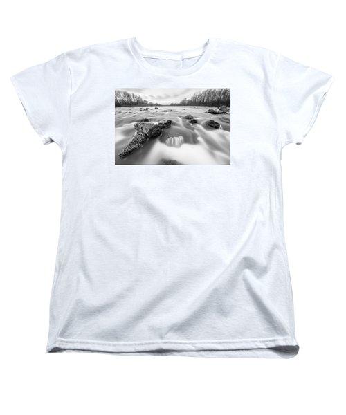 Women's T-Shirt (Standard Cut) featuring the photograph 25. December by Davorin Mance