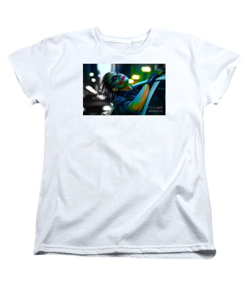 Heath Ledger Women's T-Shirt (Standard Cut)