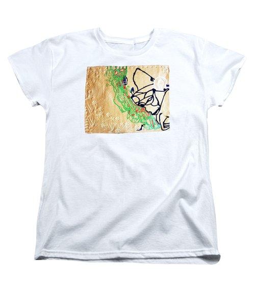 Mama Dinka - South Sudan Women's T-Shirt (Standard Cut) by Gloria Ssali