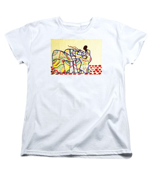The Holy Family Women's T-Shirt (Standard Cut) by Gloria Ssali