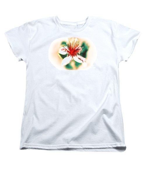 Women's T-Shirt (Standard Cut) featuring the photograph Flower by Gunter Nezhoda