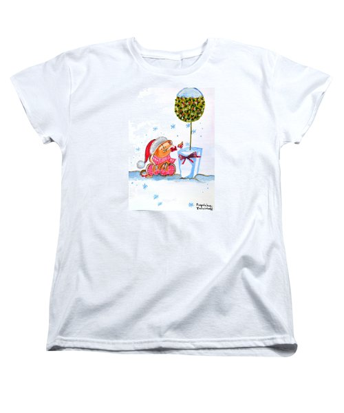 Merry Christmas Women's T-Shirt (Standard Cut)