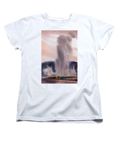 Old Faithful Women's T-Shirt (Standard Cut) by Donald Maier