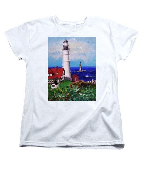 Lighthouse Hill Women's T-Shirt (Standard Cut)