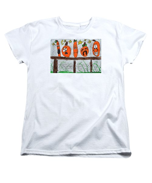 5 Little Pumpkins Women's T-Shirt (Standard Cut)