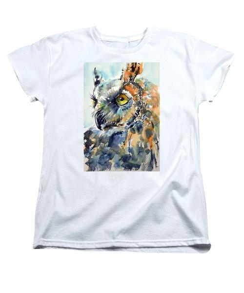 Owl Women's T-Shirt (Standard Cut)