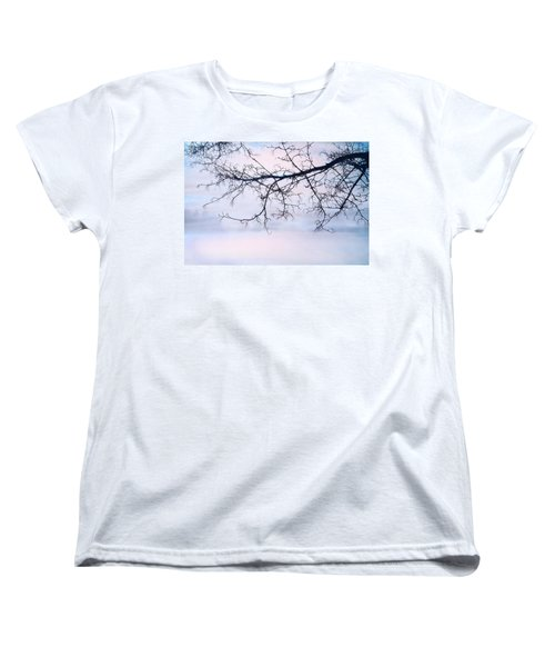 A Breathing Too Quiet To Hear Women's T-Shirt (Standard Cut) by Theresa Tahara