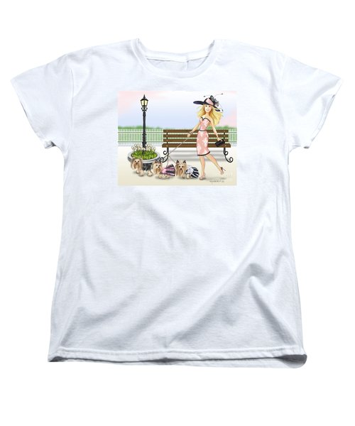 A Day At The Derby Women's T-Shirt (Standard Cut) by Catia Cho