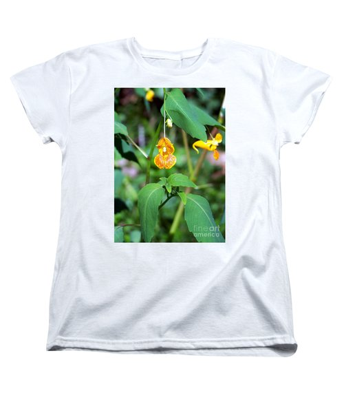 Women's T-Shirt (Standard Cut) featuring the photograph A Fragile Flower by Chalet Roome-Rigdon