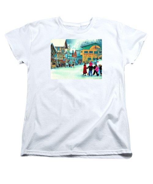 A Joyful Time Women's T-Shirt (Standard Cut) by Michael Pickett