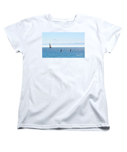 A Perfect Santa Barbara Day Women's T-Shirt (Standard Cut)