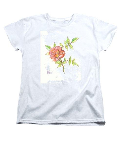 A Rose In Brigadoon Women's T-Shirt (Standard Cut)