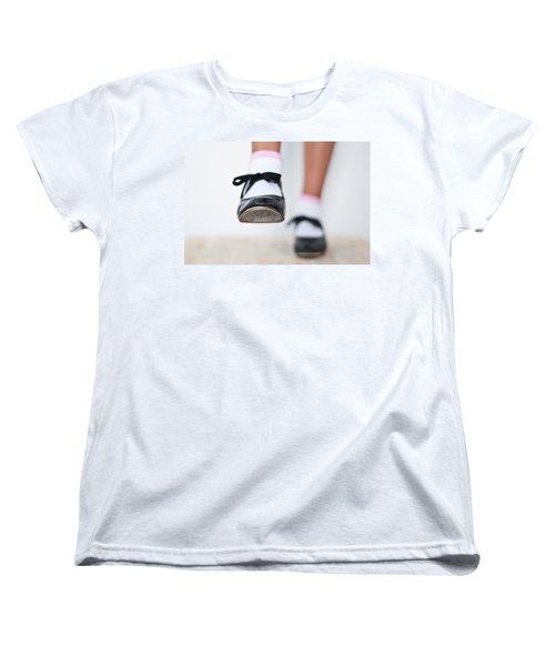 Old Tap Dance Shoes From Dance Academy - A Step Forward Tap Dance Women's T-Shirt (Standard Cut)