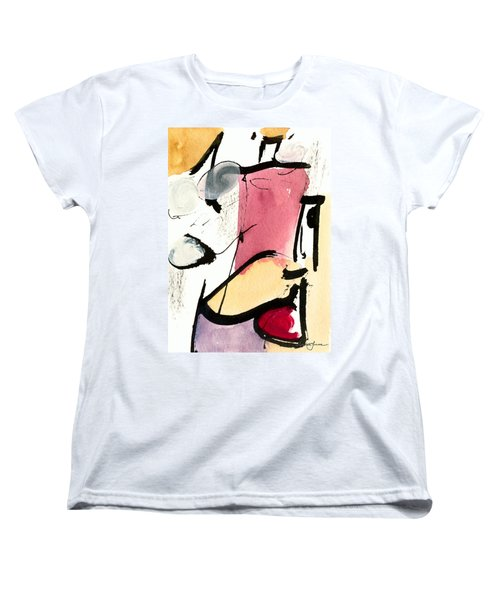 Women's T-Shirt (Standard Cut) featuring the painting A Thing Of Beauty by Stephen Lucas