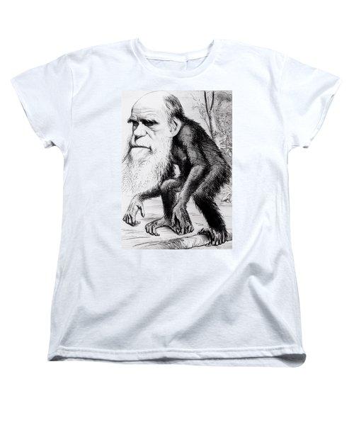 A Venerable Orang Outang Women's T-Shirt (Standard Cut) by English School
