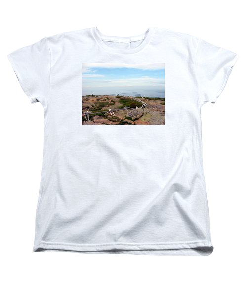 A Walk On The Mountain Women's T-Shirt (Standard Cut) by Judith Morris