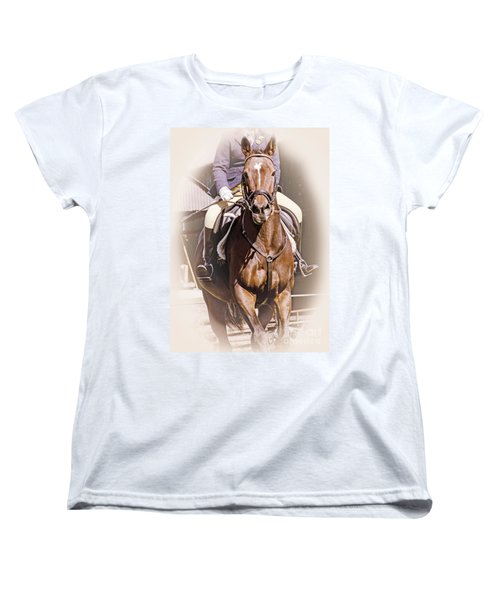 Women's T-Shirt (Standard Cut) featuring the photograph A Willing Servant by Linsey Williams