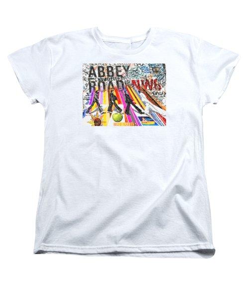 Abbey Road Women's T-Shirt (Standard Cut) by Mo T