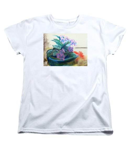 African Violet Women's T-Shirt (Standard Cut) by Hae Kim
