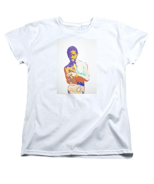 Al Green Women's T-Shirt (Standard Cut) by Stormm Bradshaw