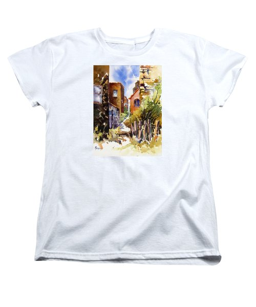 Alleyway Charm 2 Women's T-Shirt (Standard Cut) by Rae Andrews