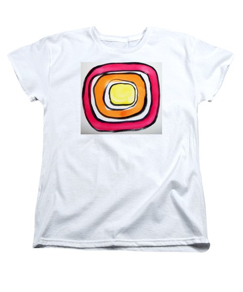 Almost Circles Women's T-Shirt (Standard Cut) by Erika Chamberlin